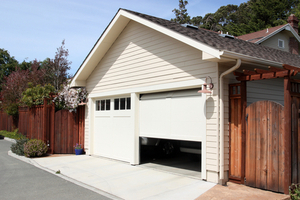 Close your garage door when its not in use to keep raccoons out